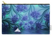 Abstract Blue World Carry-all Pouch