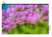 abstract Blurry pink flower background for backgrounds Carry-all Pouch