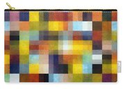 Abstract Boxes With Layers Carry-all Pouch