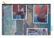 Abstract Branch Collage Trio Carry-all Pouch