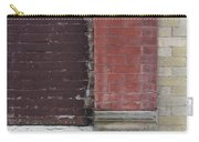 Abstract Brick Wall 1 Carry-all Pouch