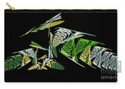 Abstract Bugs Life Horizontal Carry-all Pouch