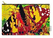 Abstract Butterfly #3 Autumn Carry-all Pouch
