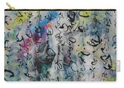Abstract Calligraphy 00 Carry-all Pouch