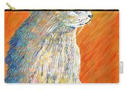Jazzy Abstract Cat Carry-all Pouch