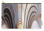 Abstract Chicago Sunrays On Trump Tower Carry-all Pouch