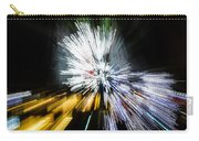 Abstract Christmas Lights - Burst Of Colors Carry-all Pouch