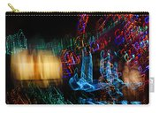 Abstract Christmas Lights - Color Twists And Swirls  Carry-all Pouch