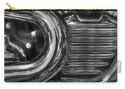 Abstract Chrome Carry-all Pouch