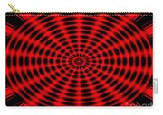 Abstract Circle Carry-all Pouch