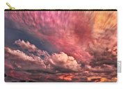 Abstract Clouds Carry-all Pouch