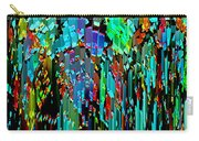 Abstract Color Falls Carry-all Pouch