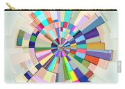 Abstract Color Wheel Carry-all Pouch