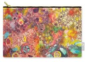 Abstract Colorama Carry-all Pouch