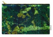 Abstract Colorful Light Projection On Trees Carry-all Pouch