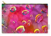 Abstract Colorful Water Drops Carry-all Pouch