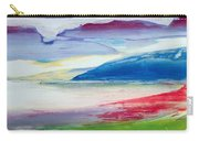 Abstract Composition Carry-all Pouch by Lou Gibbs