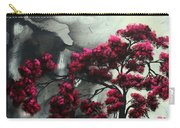 Abstract Contemporary Art Landscape Painting Modern Artwork Pink Passion By Madart Carry-all Pouch