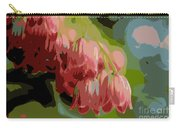 Abstract Coral Bells Carry-all Pouch