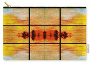 Abstract Cracker Tapestry Carry-all Pouch