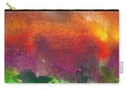 Abstract - Crayon - Utopia Carry-all Pouch by Mike Savad