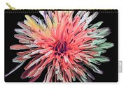 Abstract Chrysanthemum Carry-all Pouch