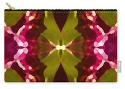 Abstract Crystal Butterfly Carry-all Pouch