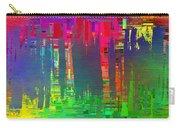 Abstract Cubed 113 Carry-all Pouch