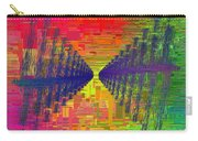 Abstract Cubed 3 Carry-all Pouch