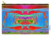 Abstract Cubed 30 Carry-all Pouch