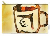 Abstract Cup Carry-all Pouch