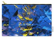 Abstract Curvy 10 Carry-all Pouch