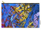 Abstract Curvy 11 Carry-all Pouch