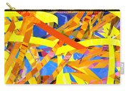 Abstract Curvy 22 Carry-all Pouch