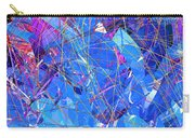 Abstract Curvy 30 Carry-all Pouch