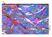 Abstract Curvy 45 Carry-all Pouch