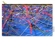 Abstract Curvy 46 Carry-all Pouch