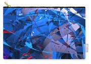 Abstract Curvy 9 Carry-all Pouch