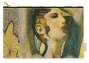 Abstract Cyprus Map And Aphrodite Carry-all Pouch