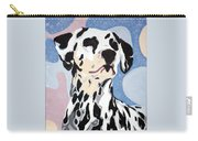Abstract Dalmatian Carry-all Pouch