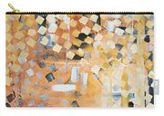 Abstract Decorative Art Original Diamond Checkers Trendy Painting By Madart Studios Carry-all Pouch