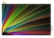 Abstract Digital Fractal Flame Art Carry-all Pouch