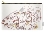 Abstract Drawing Fifteen Carry-all Pouch