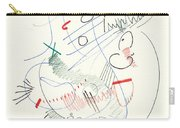 Abstract Drawing Fifty-five Carry-all Pouch