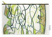 Abstract Drawing Forty-four Carry-all Pouch
