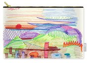 Abstract Drawing Four Carry-all Pouch