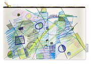 Abstract Drawing Seven Carry-all Pouch