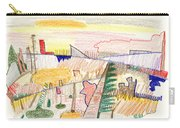 Abstract Drawing Six Carry-all Pouch