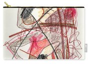Abstract Drawing Twenty-one Carry-all Pouch