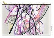 Abstract Drawing Twenty-six Carry-all Pouch